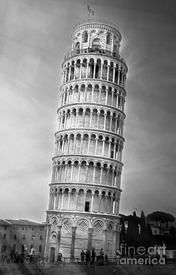 The Leaning Tower Of Pisa Print by Stefano Senise
