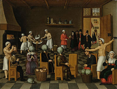 Painting - The Legend Of The Baker Of Eekloo by Cornelis van Dalem