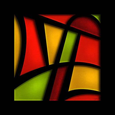Christian Artwork Mixed Media - The Life - Abstract by Shevon Johnson