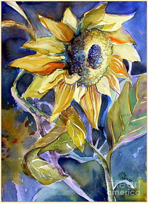 The Light Of Sunflowers Original by Mindy Newman