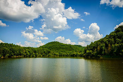 Landscape Photograph - The Light On The Lake by Michael Scott