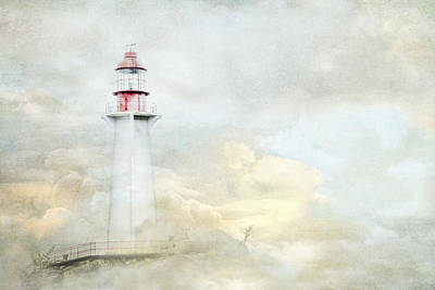 The Lighthouse Print by Theresa Tahara