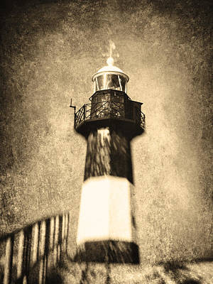 The Lighthouse Print by Wim Lanclus