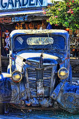 Old Trucks Photograph - The Lights Work by Joetta West