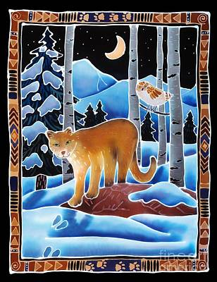 Puma Painting - The Lion And The Owl by Harriet Peck Taylor