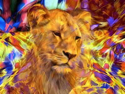 The Lioness  Original by Daniel Arrhakis