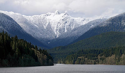 The Lions Mountain Vancouver Print by Pierre Leclerc Photography
