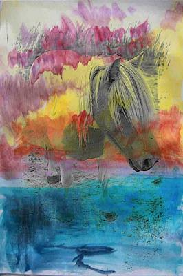 Digital Art - The Little Pony by Contemporary  Art