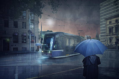 Tram Photograph - The Long Goodbye 5 by Adrian Donoghue