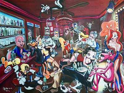 The Looney Tunes Hangover Original by Charlotte Oedekoven