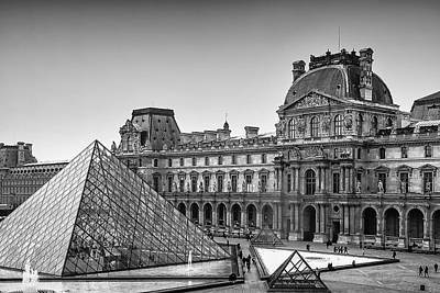 Horizontal Photograph - The Louvre by Andrew Soundarajan