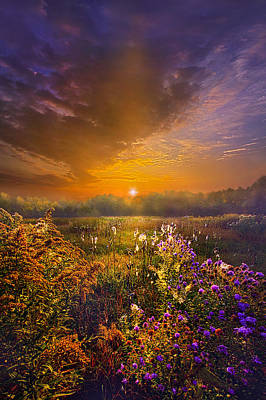 Hope Photograph - The Love That Lights My Way by Phil Koch