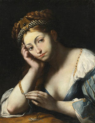 Painting - The Magdalene by Attributed to Girolamo Forabosco