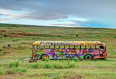 The Magic Bus Print by Doug Davidson