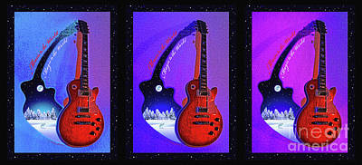 The Magic Of Music Print by Gem S Visionary