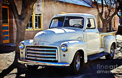 Old Trucks Digital Art - The Magic Of The 1949 Gmc 100 by Barbara Chichester