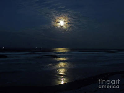 Man In The Moon Photograph - The Magic Of The Supermoon by D Hackett