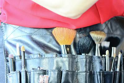 Digital Art - The Makeup Artist by Toppart Sweden