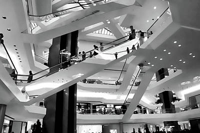 The Mall Print by Diana Angstadt