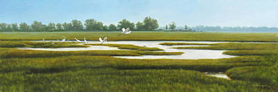 The Marshes Original by David Henderson