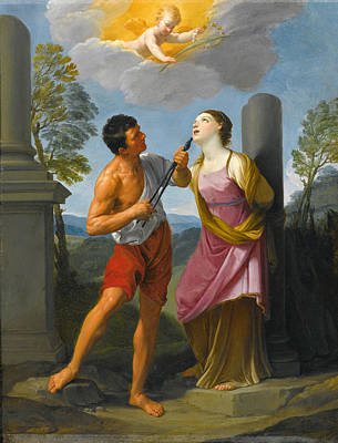 Guido Reni Painting - The Martyrdom Of Saint Apollonia by Guido Reni