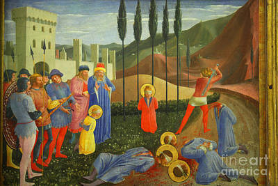 Damian Photograph - The Martyrdom Of Saints Cosmas And Damian - Le Martyre Des Saint by Patricia Hofmeester