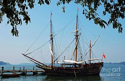 The Maryland Dove Ship Print by Thomas R Fletcher