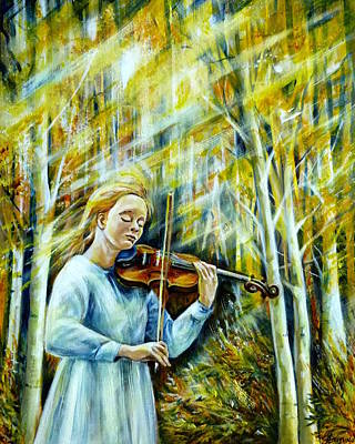 Unity Painting - The Melody Of Autumn by Anna Duyunova