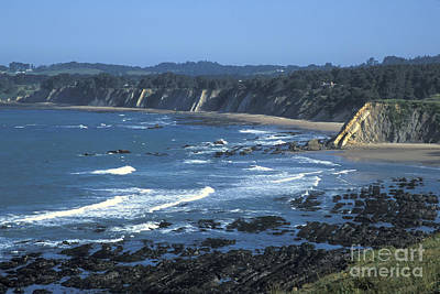The Mendocino Coast Print by Stan and Anne Foster