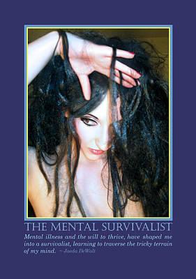 The Mental Survivalist Print by Jaeda DeWalt