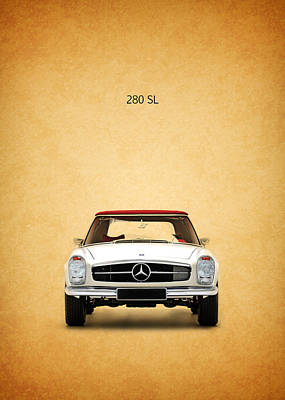 Mercedes Benz Photograph - The Mercedes 280 Sl by Mark Rogan