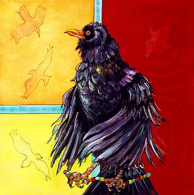 Mockingbird Painting - The Messenger II by Rose Collins