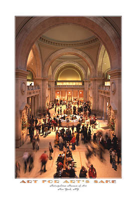 Cities Digital Art - The Metropolitan Museum Of Art by Mike McGlothlen