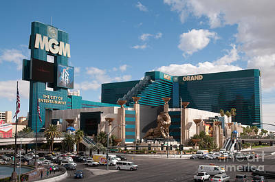 Nevada Photograph - The Mgm Grand by Andy Smy