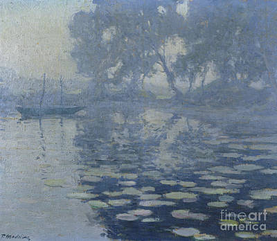 The Mill Pond Print by Paul Madeline