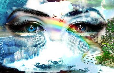 The Mind's Eyes Original by LDS Dya
