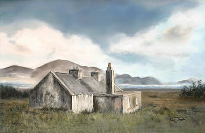 The Mist Of Moorland Original by Colleen Taylor
