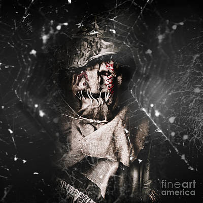 Monster Photograph - The Monster Scarecrow by Jorgo Photography - Wall Art Gallery