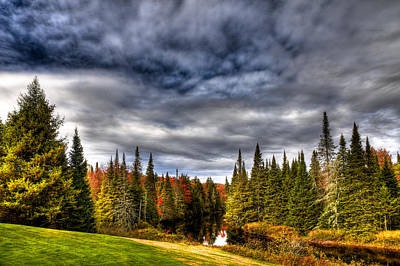 Golfing Photograph - The Moose River At The Golf Course by David Patterson
