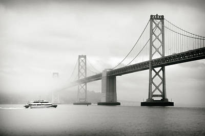 San Francisco Financial District Digital Art - The Morning Commute by Eduard Moldoveanu