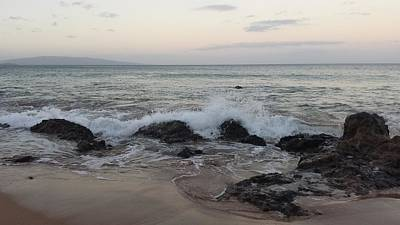 Aloha Photograph - The Morning Oceanfront by Christina Taylor