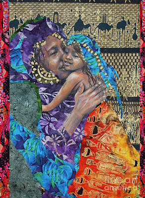 The Mother Line-teaching Our Daughters Well Print by Gary Williams