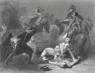 Lord Drawing - The Murder Of Lord Kilwarden By Robert by Vintage Design Pics