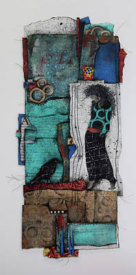 Paper Mixed Media - The Mystic  by Laura Lein-Svencner