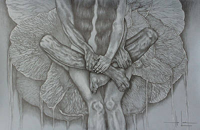 Hands Of Love Drawing - The Name Of Love  by Hari Lualhati