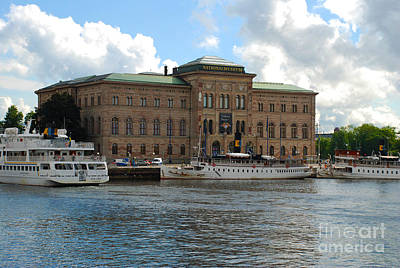 Sweden Photograph - The National Museum - Stockholm Sweden by Just Eclectic