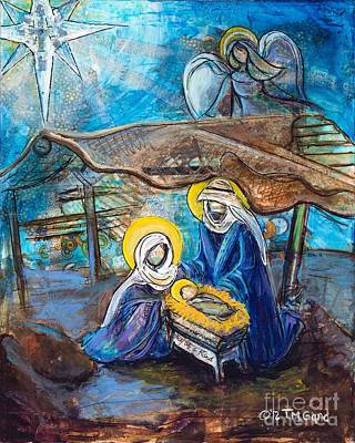 The Nativity Print by TMGand