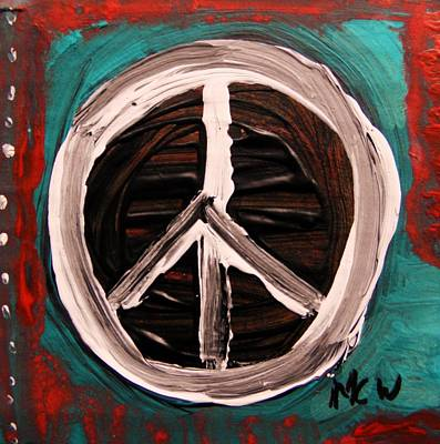 Simplicity Drawing - The Need Continues by Mary Carol Williams