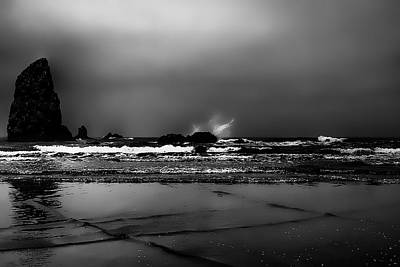 Oregon Photograph - The Needles At Cannon Beach by David Patterson