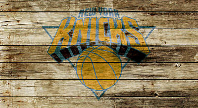 The New York Knicks W1 Print by Brian Reaves